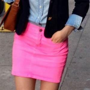 Croft & Barrow pink skorts  skirt  shorts size 18W